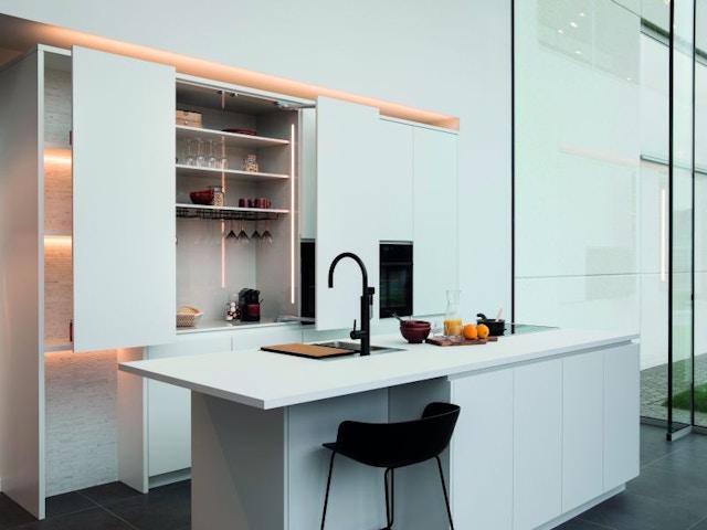 keuken keukenkast ontbijtkast schuifkast eiland
