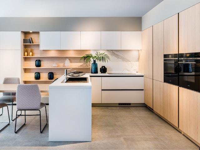 Revêtement antibactérien DSM Kitchens pour armoires de cuisine