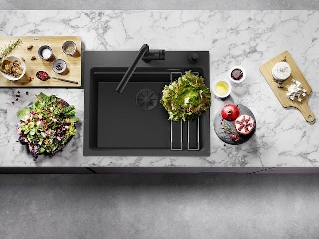 batibouw 2021 blanco spoelbak keukenkraan