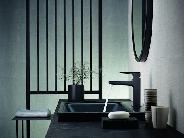 Hansgrohe badkamer kraan wastafel badkamerkraan spiegel