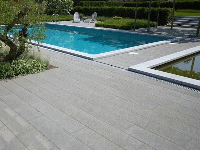 bestrating bestratingsmateriaal tegels zwembad terras