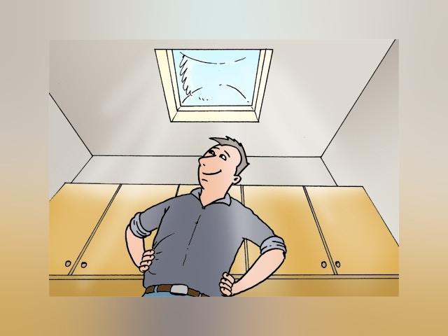 7820 Lichtkoepel plaatsen op plat dak