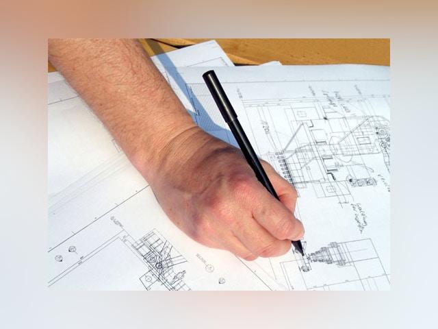 architect bouwplannen plan