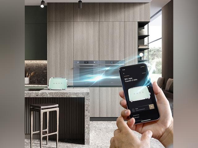 Pidk Smeg keuken keukentoestellen AR-app toaster broodrooster
