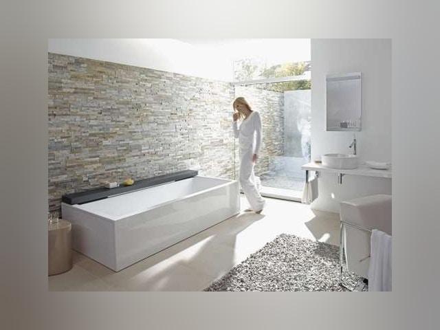 Duravit salle de bains douche baignoire évier robinet