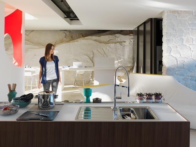 kraan keuken keukenkraan spoelbak Hydros