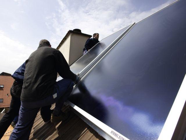 zonneboiler zonnecollector dak collector
