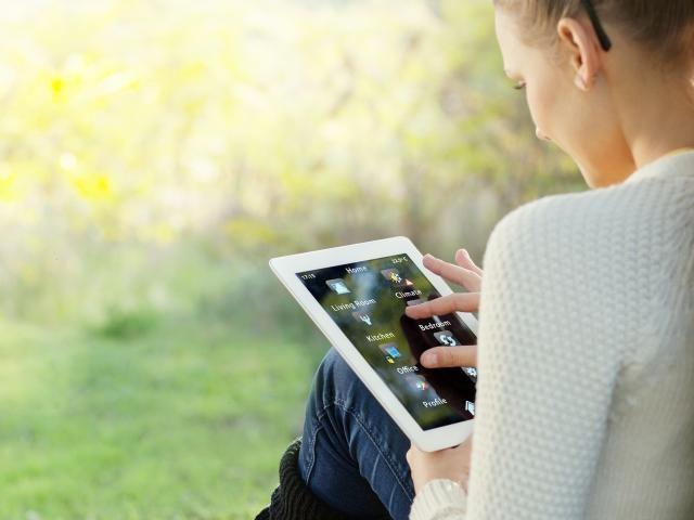 domotica smarthome tablet app