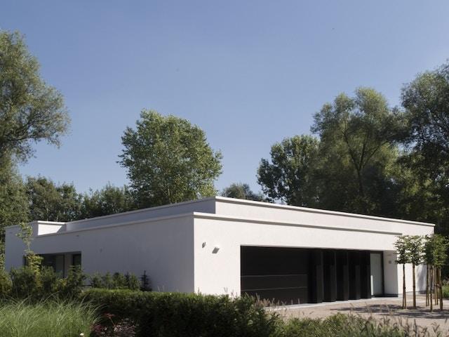 villa modern poort