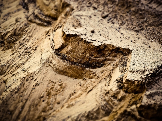 sable du sol terrassement