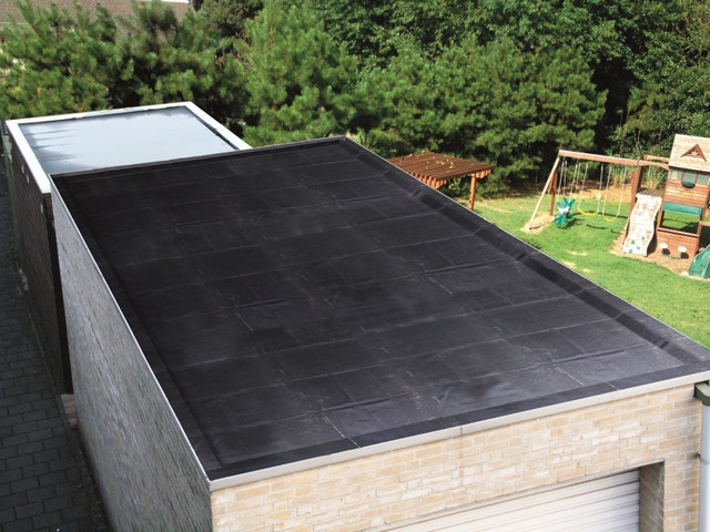 EPDM plat dak Aquaplan_EPDM rubber dak