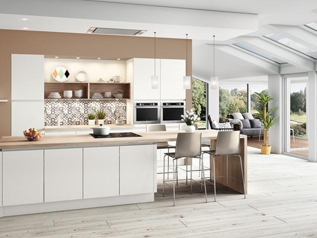 witte keuken keukeneiland