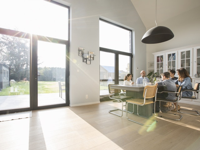 aluminium ramen renovatie daglicht familie gezin